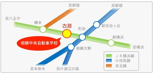 路線 横浜 図 線